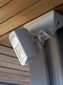 Infrarood beveiligingslamp