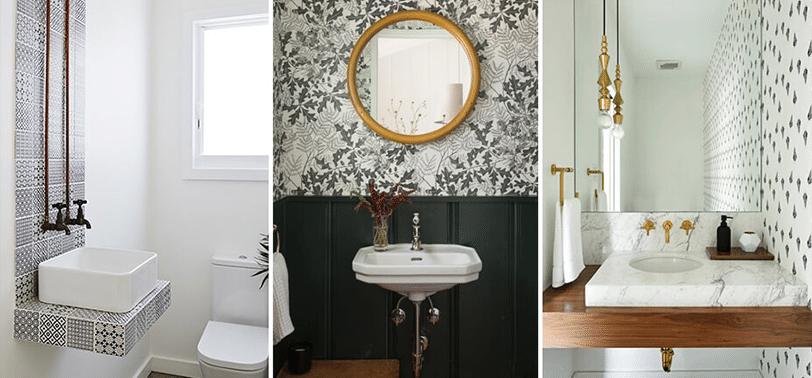 Moderne badkamer 2019: kies voor elegante spiegels, goud & hout, zwart & mat