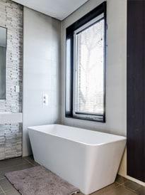 Welk bad voor je badkamer kiezen?