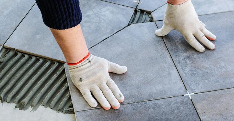 Keramische tegels voor badkamervloer