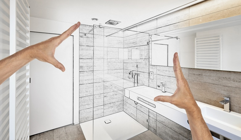 Stappenplan ontwerp badkamer