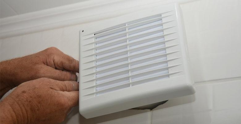 Badkamerventilator als badkamerverluchting?