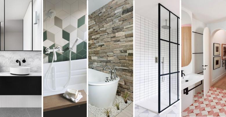 Tegels badkamer: de 5 populairste trends