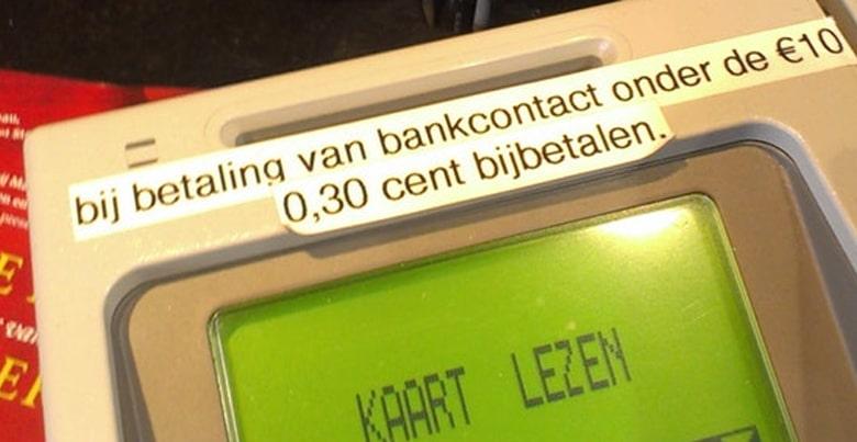 Verbod op doorrekenen transactiekosten Bancontact: een goede zaak?