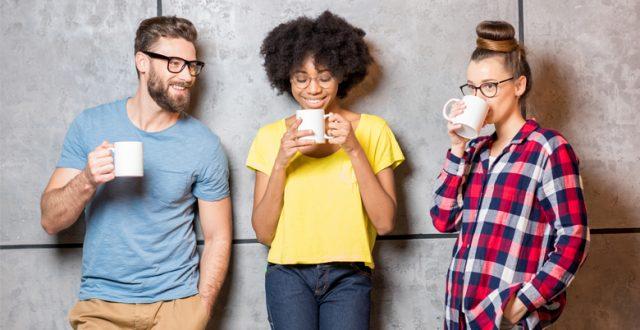 Waarom is koffie op het werk goed?