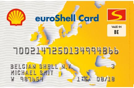 shekll tankkaart voor zelfstandigen