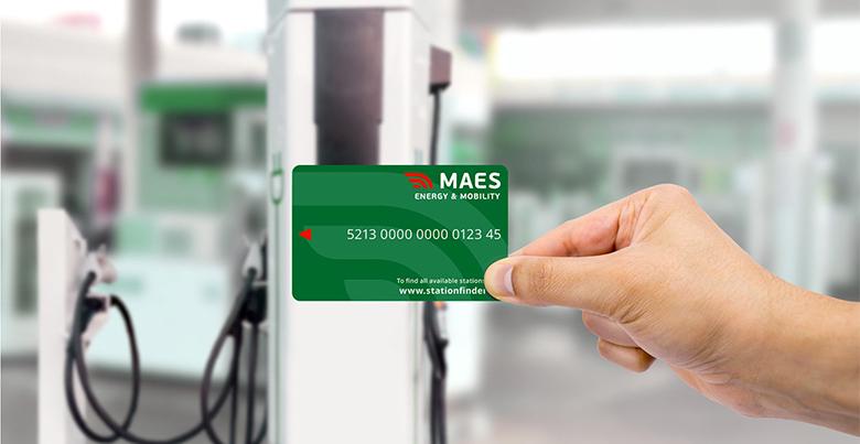 Van werknemer tot baas, een tankkaart van MAES