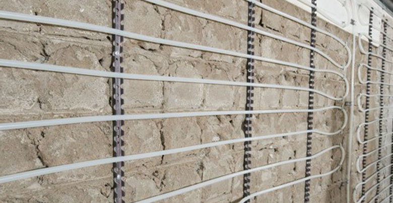 Wandverwarming: opbouw en prijs per m²