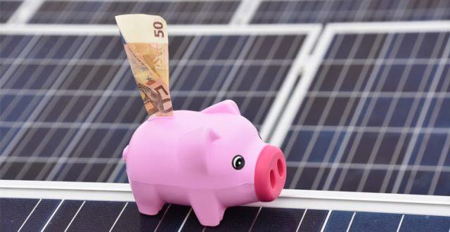Energiefactuur zonnepanelen